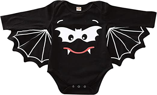 Amazon.com: Disfraz de murciélago para Halloween, mono de ...