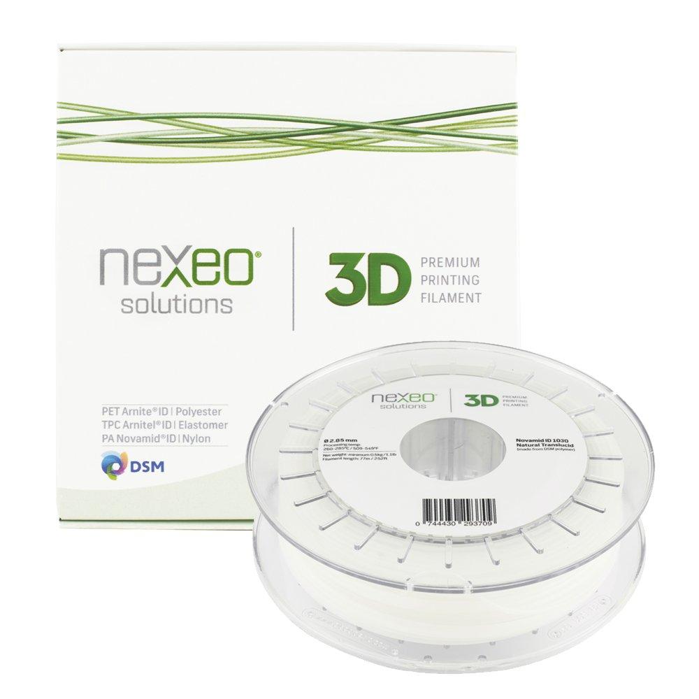 Nexeo 3D Printing Filament NOVAMIDID 1030 Natural Translucid 2.85mm 500gr Nexeo Solutions 16114794