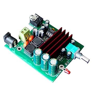 jiuwu 8 – 25 V 100 W TPA3116 Subwoofer amplificador digital de potencia Junta TPA3116D2 amplificadores