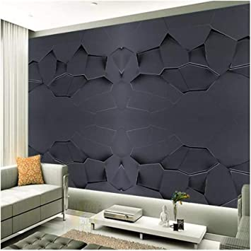 YUANLINGWEI Papel Tapiz Mural Personalizado 3D Empotrado Textura ...