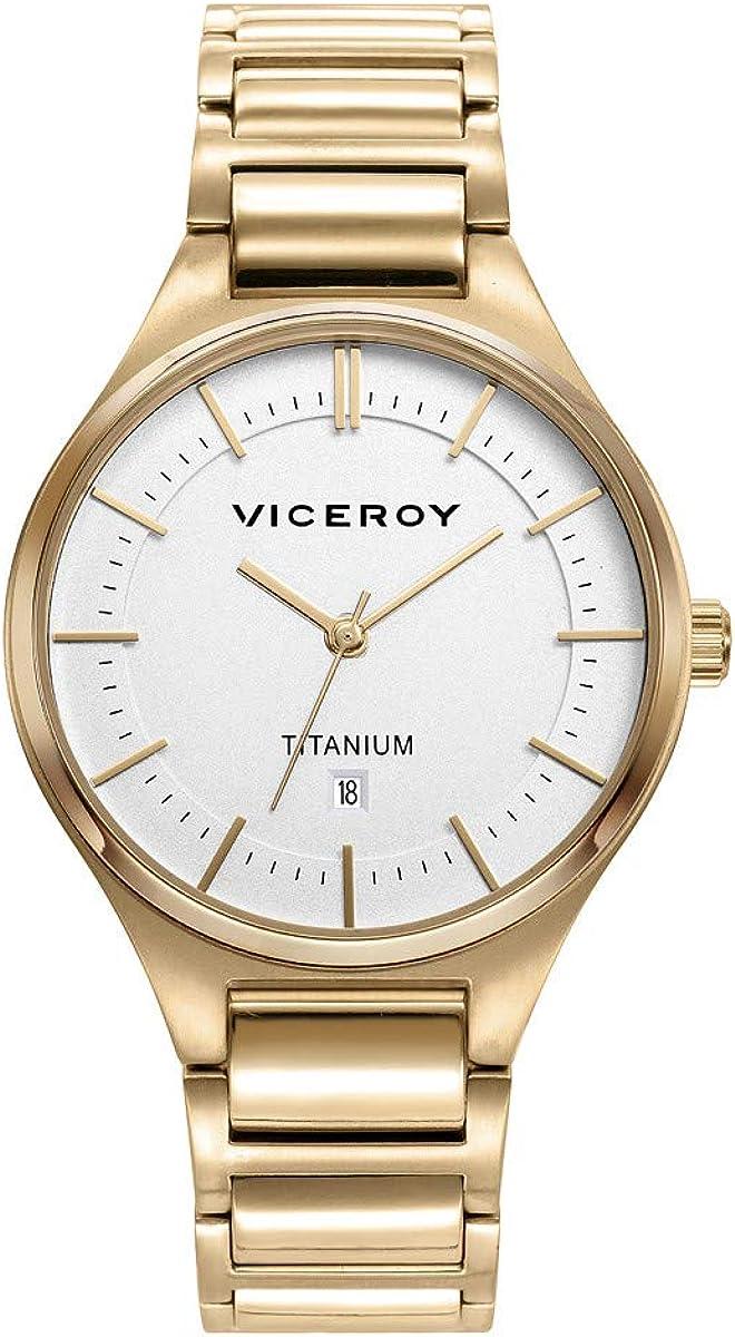 Reloj Viceroy Grand Titanio Dorado Mujer 471230-07