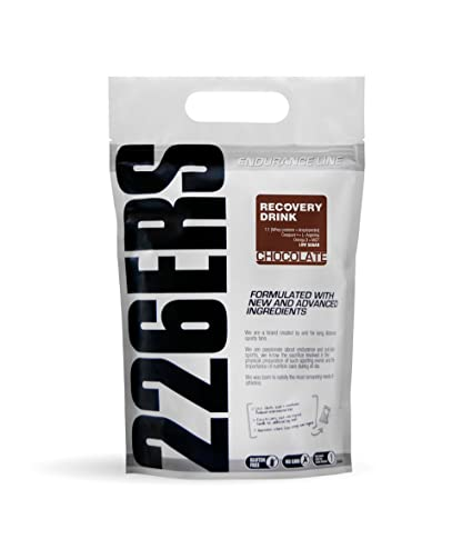 226ers Recovery Drink Recuperador Muscular Sabor Chocolate - 1000 gr