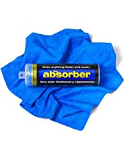 """Cleantools 42149 The Absorber Synthetic Drying Chamois, 27"""" x 17"""", Blue"""