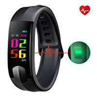 Fitness Tracker, CHEREEKI Colour Screen Fitness Trackers with Heart Rate Monitor Waterproof Activity Tracker Smart Watch Smartwatch with Sleep Monitor Messages Storage SNS Messages for Android and iOS for Kids Women Men