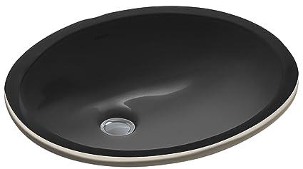 Merveilleux KOHLER K 2209 7 Caxton Undercounter Bathroom Sink, Black Black