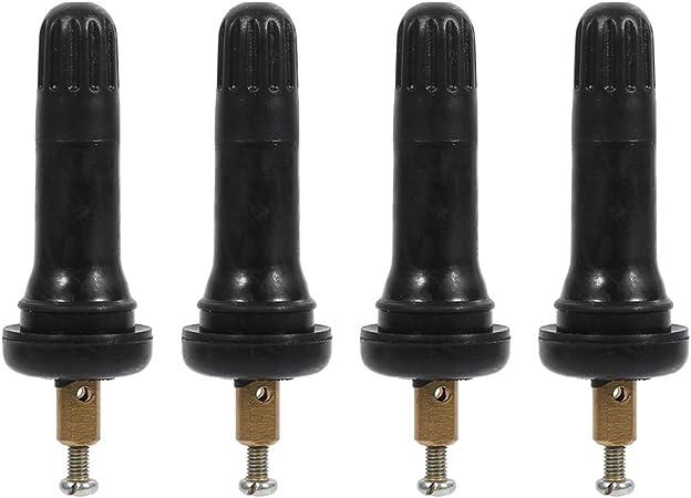 4 Stück Snap In Sensor Ventileinsätze Für Tpms Rdks Reifendruckkontrollsystem Explosionssicher Für Buick Auto