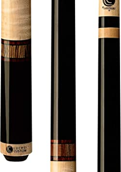 Lucasi Custom Mystic negro y rizado Arce taco de billar con ...