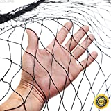 COLIBROX--Anti Bird Netting 50'X50' Soccer Baseball Game Poultry Fish Net 2''x2'' Mesh New,commercial bird netting,anti bird netting home depot,50' x 50' Anti Bird Netting