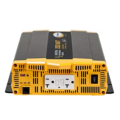 Go Power! GP-ISW2000-12 Industrial Pure Sine Wave Inverter: Automotive