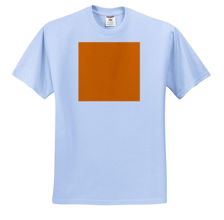 3dRose Kultjers Colors Adult T-Shirt XL Color UT Orange ts/_317395