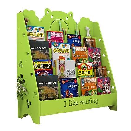 100% authentic b893c aadbb Amazon.com: Bookshelves Children's Bookshelf Simple Creative ...