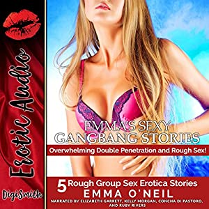 Emma's Sexy Gangbang Stories Audiobook