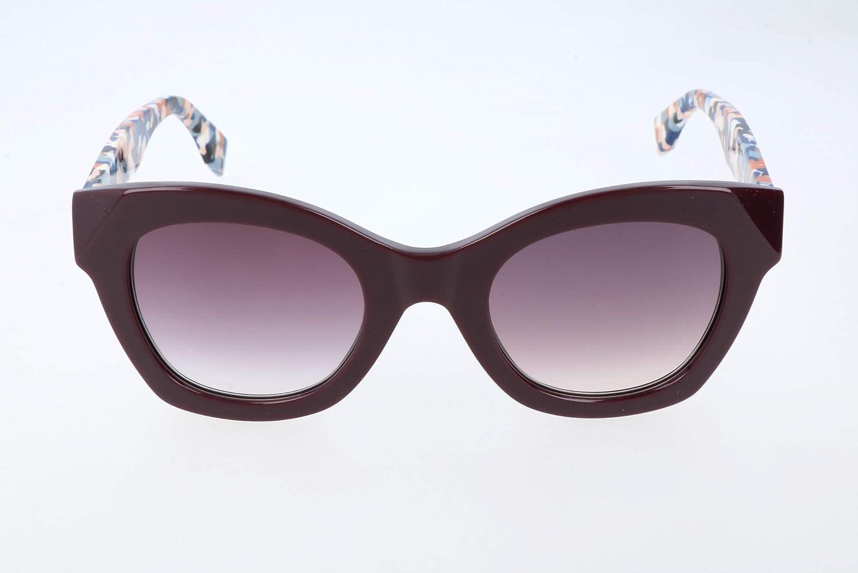 FENDI FF 0204/S J8 Gafas de sol, Morado (Plum Multic/Mauve Sf), 48 para Mujer