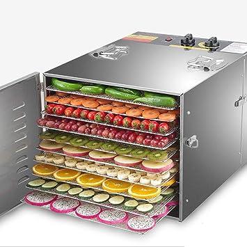 Máquina Deshidratadora Eléctrica Para La Conservación De Alimentos De 10 Capas Para Carne O Carne Seca, Secadora De Frutas Y Verduras, ...