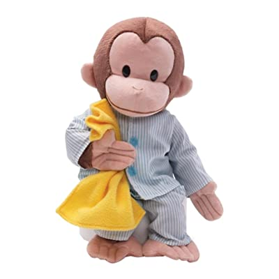 "GUND Curious George Pajamas Monkey Stuffed Animal Plush, 16"": Toy: Toys & Games"