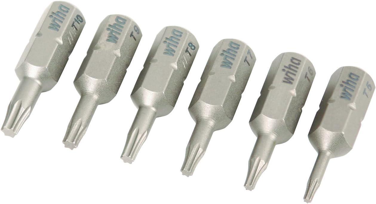 WIHAA 75988 Micro Bit Torx 10 Pack Wiha
