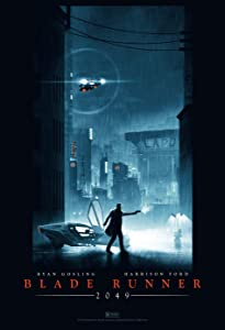 GZSGWLI Blade Runner 2049 Movie Poster Art Print 24x36 inches (60.96x91.44cm) Art Silk or Canvas