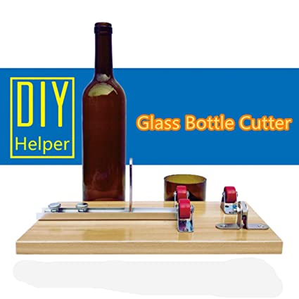 KUNSE Cerveza Vino Botella Cortadores Máquina De Vidrio Escultura Arte Corte DIY Reciclar Herramienta: Amazon.es: Hogar