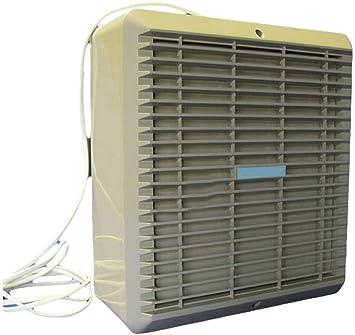 Ventilador extractor de ventana de 9 pulgadas con obturador interno automático: Amazon.es: Bricolaje y herramientas