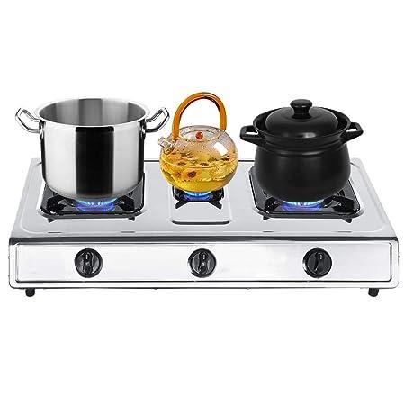 EBTOOLS Cucina a Gas,Piano Cottura,Cucina a Gas Inossidabile ...