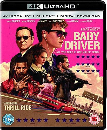 Baby Driver  4K Uhd   Blu Ray
