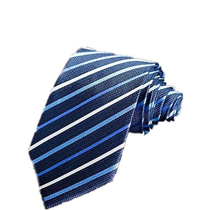 Junjiagao Corbata de Hombre Corbata Profesional de Negocios ...