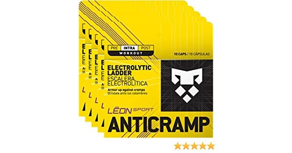 Amazon.com: LEON SPORT ANTICRAMP - Salt Tablets and Salt Pills for Runners and Cyclists - Electrolytes Tablets (50 Caps, Salt Capsules): Health & Personal ...