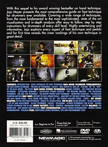 Hudson Music Jojo Mayer ENGLISH Secret Weapons II Foot Technique DVD