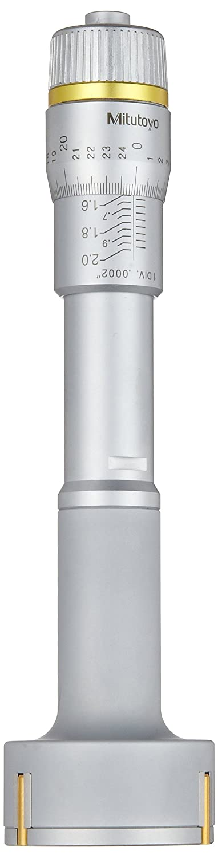 5-6 Range Mitutoyo 368-275 Holtest Vernier Inside Micrometer Three-Point 0.0002 Graduation +//-0.00025 Accuracy