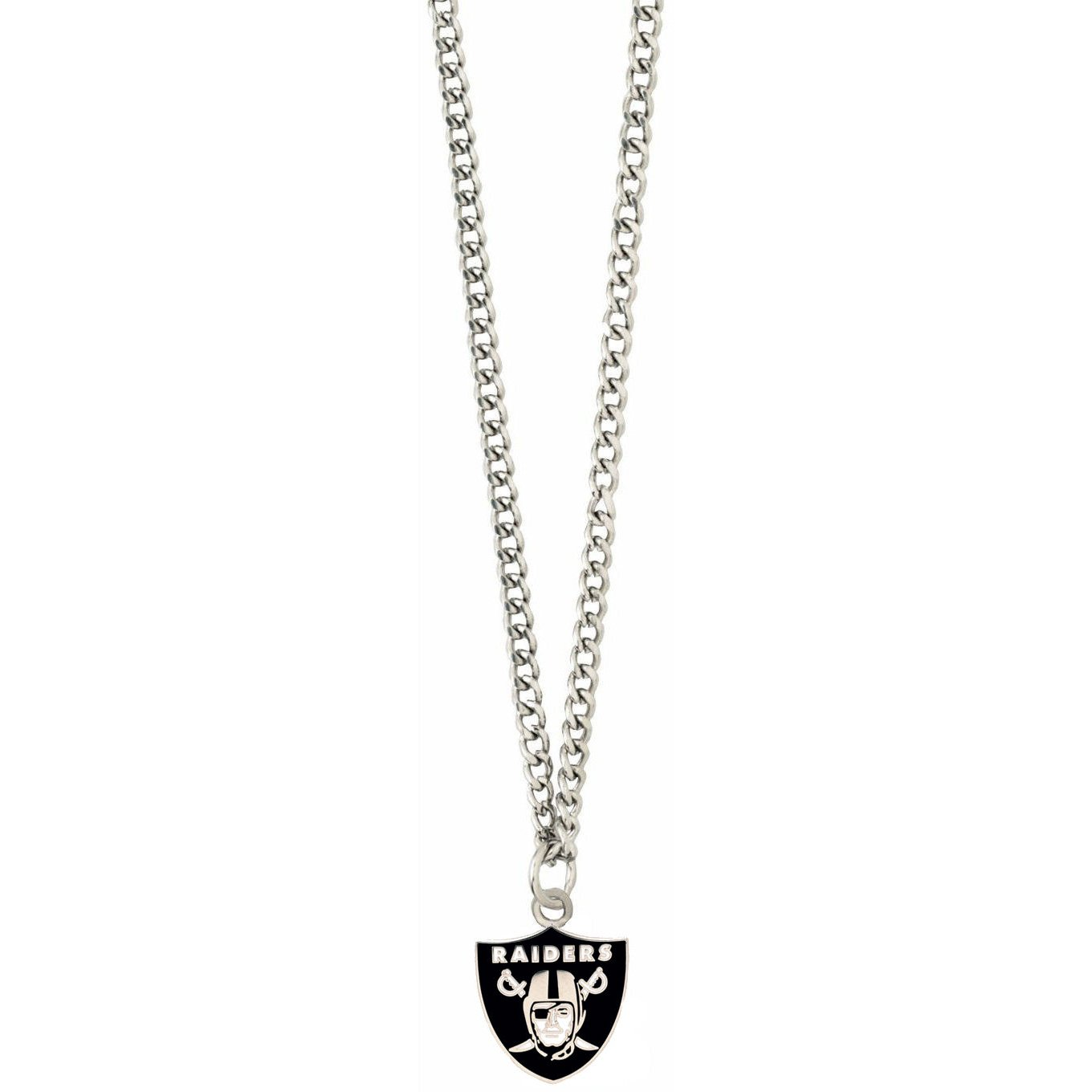 aminco NFL Oakland Raiders Team Logo Necklace