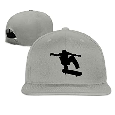 Xukmefat Unisex Skateboard Skater Adjustable Sunscreen Trucker Hat Sports Cap: Amazon.es: Ropa y accesorios