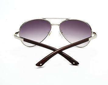 WKAIJC Metall Persönlichkeit Bequem Anspruchsvoll Kreativ Mode Männer Und Frauen Sonnenbrillen ,A