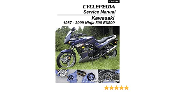 CPP-139 Kawasaki EX500 Ninja 500 Cyclepedia Printed ... on