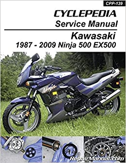 CPP-139 Kawasaki EX500 Ninja 500 Cyclepedia Printed ...