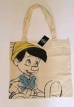 Disney ~ pinocho bolso ~ ~ bolsa de lona: Amazon.es: Hogar