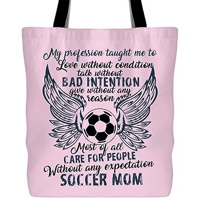 Amazon.com: Conviértete en una bolsa de lona de fútbol para ...