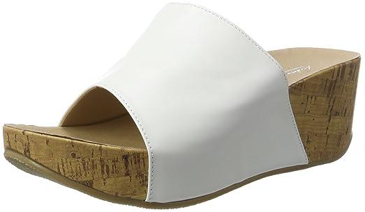 Andrea Conti1543427 - Mules Mujer, Color Blanco, Talla 40 EU
