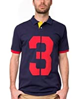 U.S. Polo Assn. Mens' Number 3 Shorts Sleeve Polo Shirt