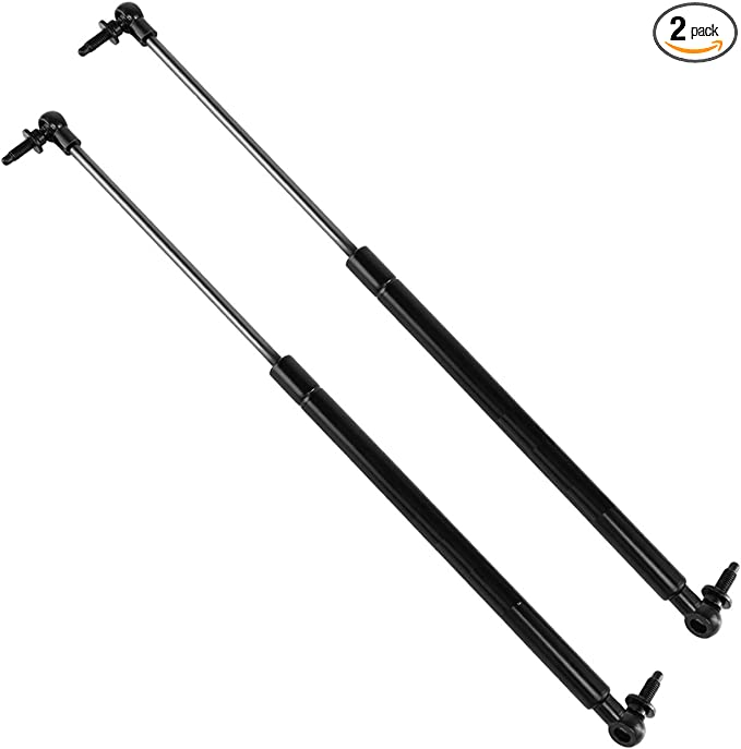 XYZMOT 2Pcs Liftgate Lift Supports Struts Shocks Springs For Jeep Grand Cherokee 2005-2010 Liftgate Type With Ball Socket Ends SG314044,68025358AA,68025358AB,68025359AA