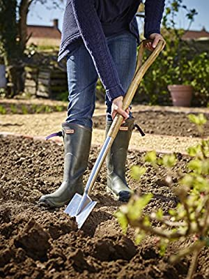 Moulton Mill Edge Stainless Steel Digging Spade