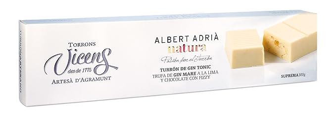 Vicens Turrón de Gin Tonic Adrià Natura - 300 gr