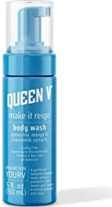Queen V Make It Reign Body Wash for Women | pH Balanced to Support Feminine Health | Vegan, Hypoallergenic | Paraben Free, Dye Free | Gynecologist Recommended | Aloe Vera and Green Tea