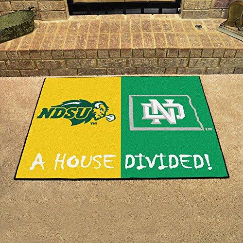 Fanmats North Dakota - North Dakota State House Divided Rugs
