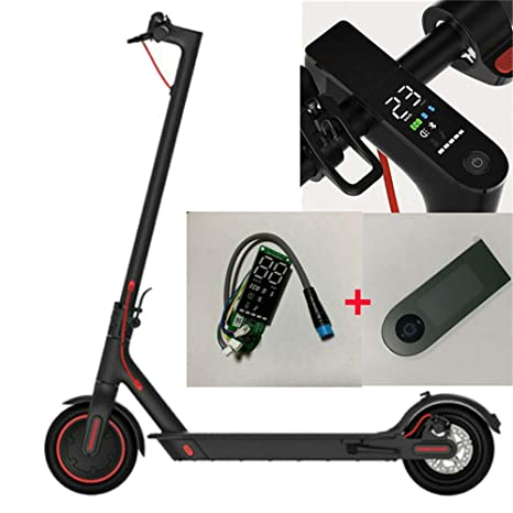 AOIROE Upgrade Version Circuit Board and Dashboard Panel Cover Replacement  for Xiaomi Electric Scooter Mijia M365/ M365 Pro Scooter Parts(Circuit