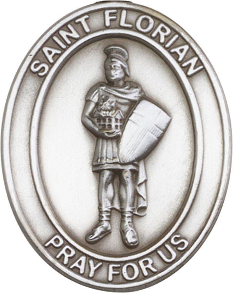 Florian Visier Clip Antik Silber St