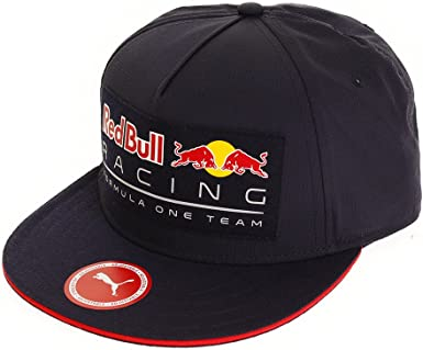 Red Bull Racing Adultos Puma Lifestyle Flat Brim 2018 Cap, Night ...