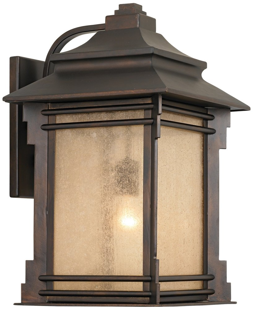 Franklin Iron Works Hickory Point 19'' High Outdoor Light