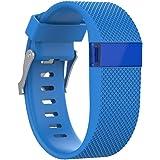 Fitbit Charge HR armband, SHOBDW Ersatz Silikonband Gummiband Wristband Armband für Fitbit Charge HR