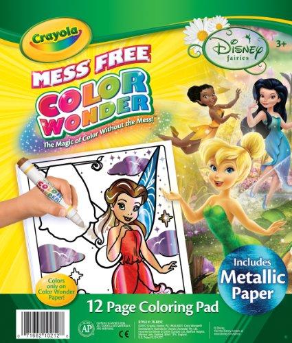 wonder disney fairies coloring pad