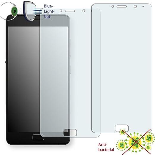 9 opinioni per 2 x DISAGU pellicola protettiva ClearScreen per Lenovo P2 antibatterica,